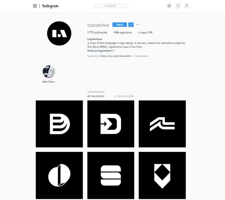 instafeed de logo design logoarchive