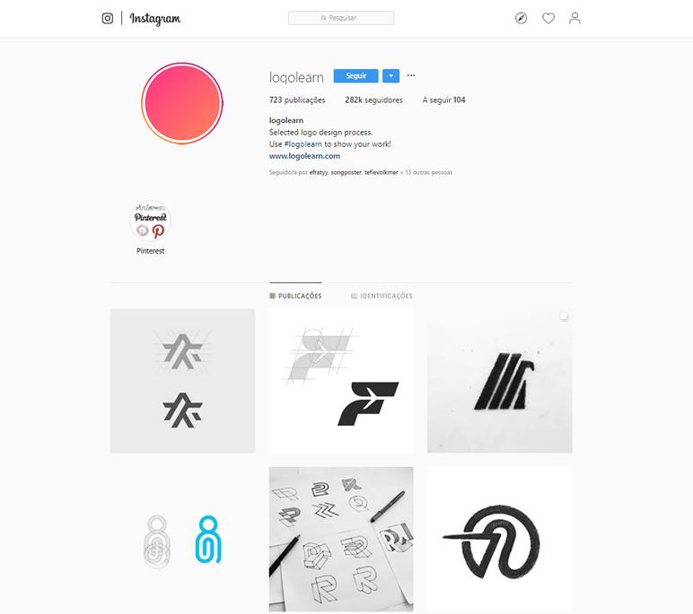 instafeed de logo design logolearn
