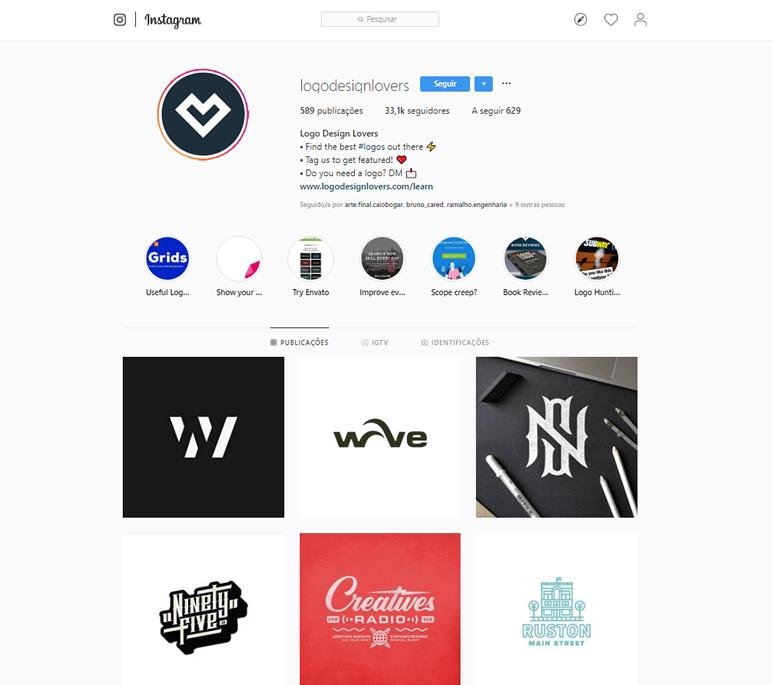 instafeed de logo design logodesignlovers