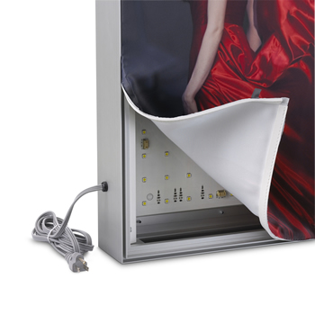 Caixa de Luz Vantagens em utilizar estes painéis de tecido 2