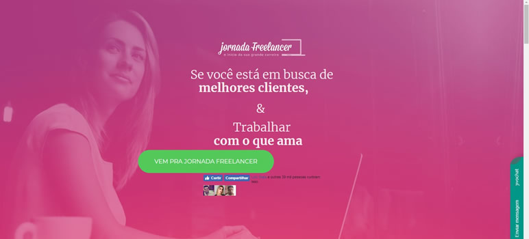 Designer Finalmente uma lista de sites Jornada Freelancer