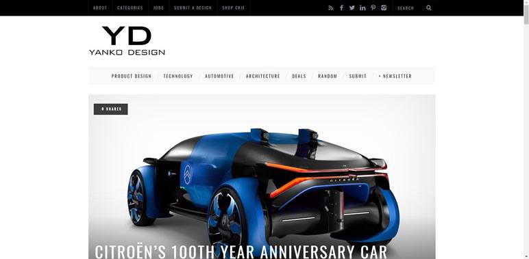 Designer Finalmente uma lista de sites Yango Design