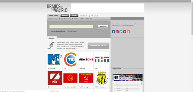 Designer Finalmente uma lista de sites brands of the world