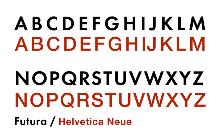 Fontes de letras conheça os tipos e como utilizar futura e helvetica