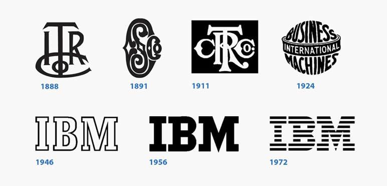 5 logos mais icónico IBM