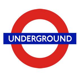 5 logos mais icónico Underground London
