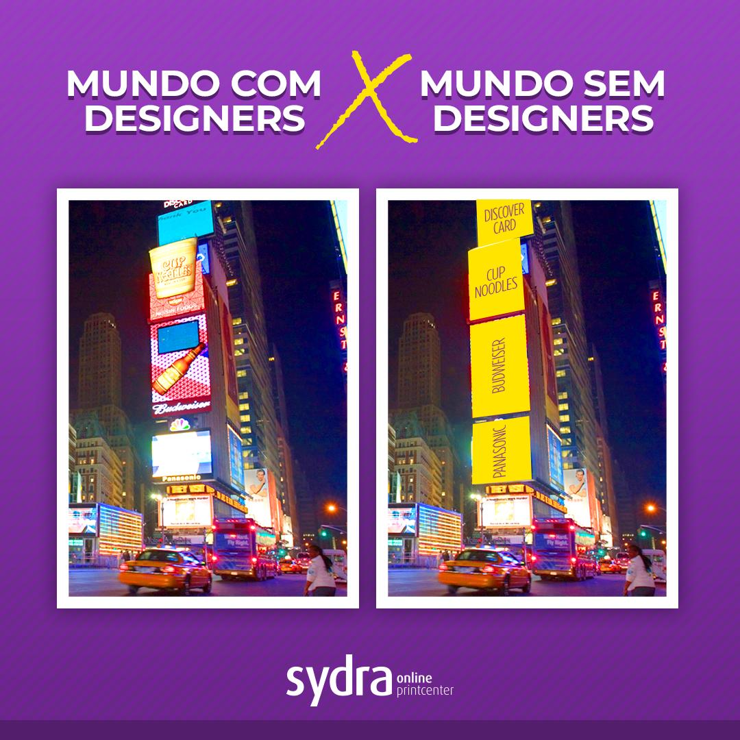 mundo com designers X mundo sem designers